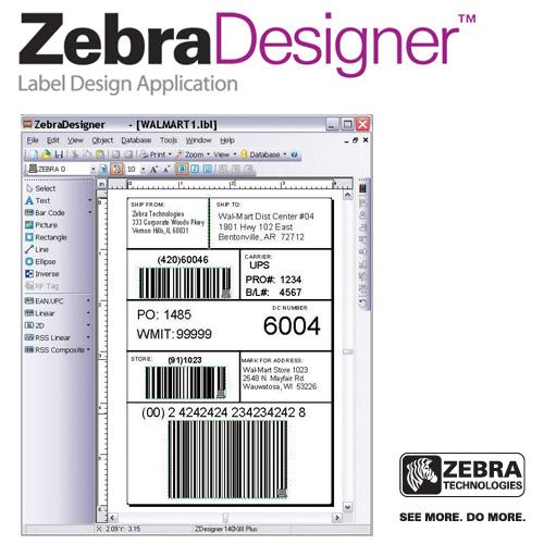 Software para Diseño de Etiquetas Zebra Designer