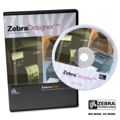 Software para Diseño de Etiquetas Zebra Designer Pro