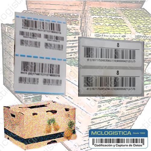Etiquetas para trazabilidad de producos agrícolas