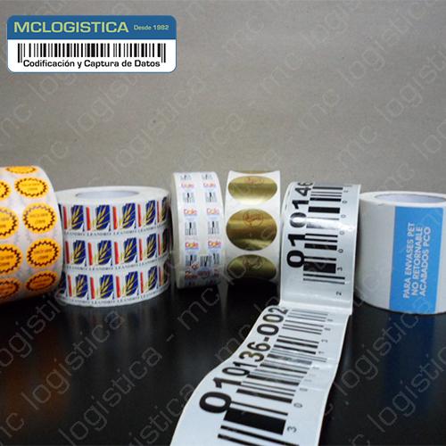 Etiquetas impresas a medida