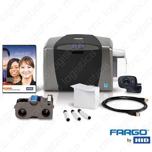 Combo Impresora Fargo DTC1250e
