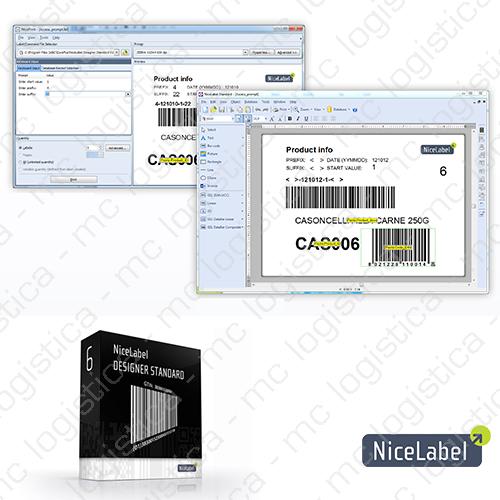 Software de Diseño e Impresión de Etiquetas NiceLabel Standard
