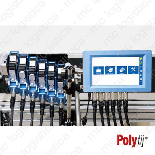 Sistema de impresión multicabezal Polytij S6